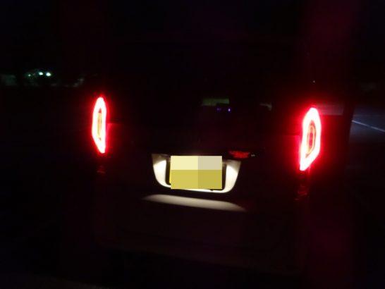 新型N-BOX LEDライト