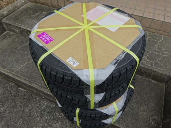 新型Nボックス スタッドレスタイヤ