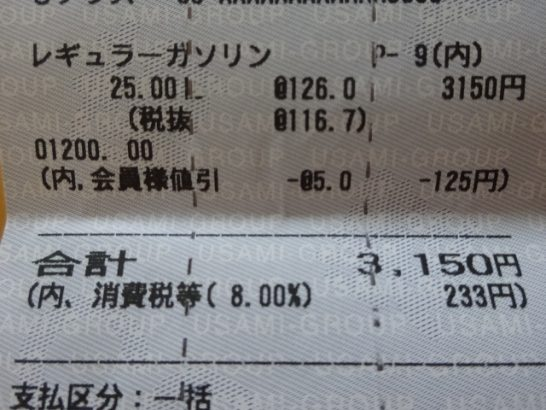 JF3 燃費