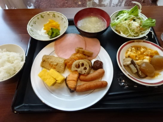 ホテルアートイン 朝食