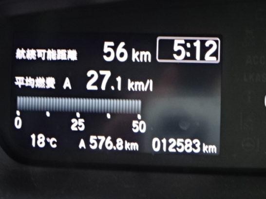 新型N-BOXの燃費
