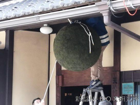天領酒造 杉玉
